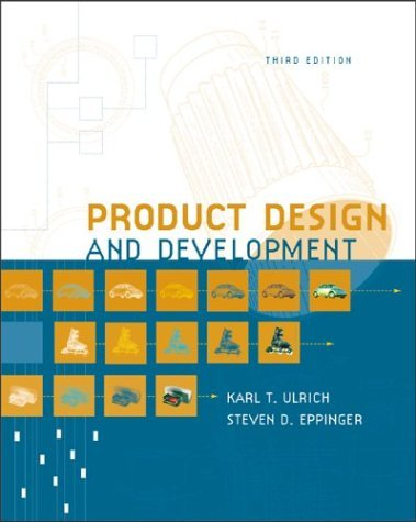Product Design and Development  3rd 2004 (Revised) edition cover