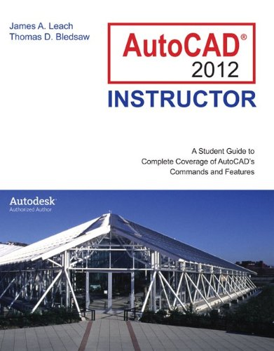 AutoCAD 2012 Instructor  7th 2012 edition cover