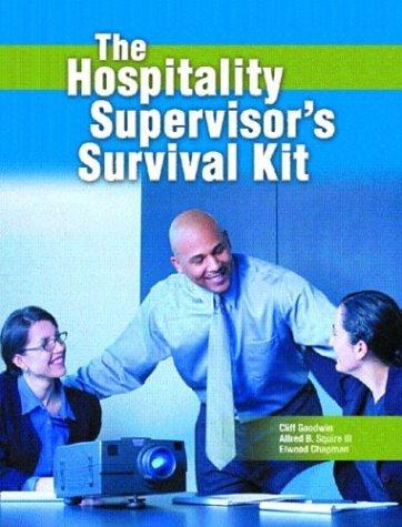 Hospitality Supervisor's Survival Kit   2005 edition cover