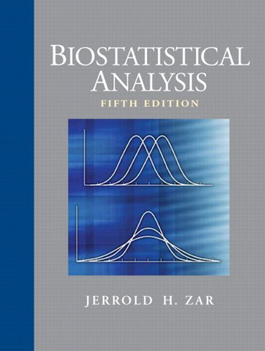 Biostatistical Analysis  5th 2010 edition cover