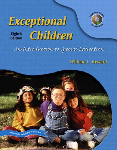 Exceptional Children An Introduction to Special Education and OneKey CourseCompass Standard Package 8th 2006 (Revised) 9780132184465 Front Cover
