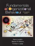 Fundamentals of Organizational Behaviour  5th 2014 edition cover