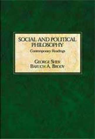 Social and Political Philosophy   1999 edition cover