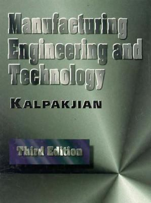Manufacturing Engineering and Technology  3rd 1995 edition cover