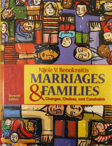 MARRIAGES and FAMILIES &MYFAMILYLAB EBK ACC  7th 2011 9780205808465 Front Cover