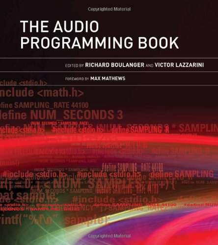 Audio Programming Book   2011 9780262014465 Front Cover