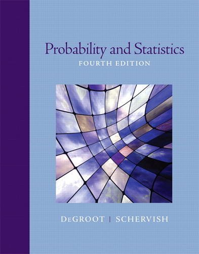 Probability and Statistics  4th 2012 (Revised) edition cover