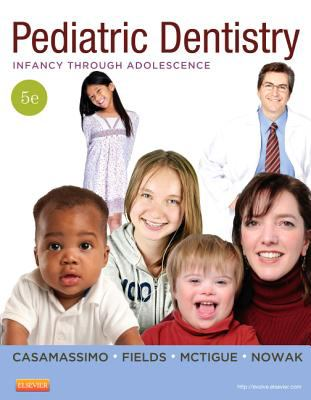 Pediatric Dentistry Infancy Through Adolescence 5th 2013 edition cover