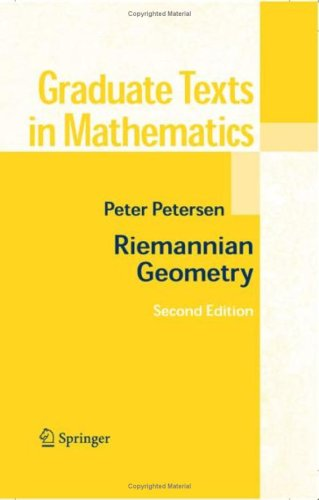 Riemannian Geometry  2nd 2006 (Revised) edition cover