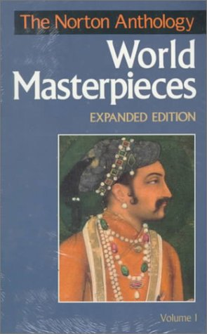 Norton Anthology of World Masterpieces  6th (Expanded) edition cover