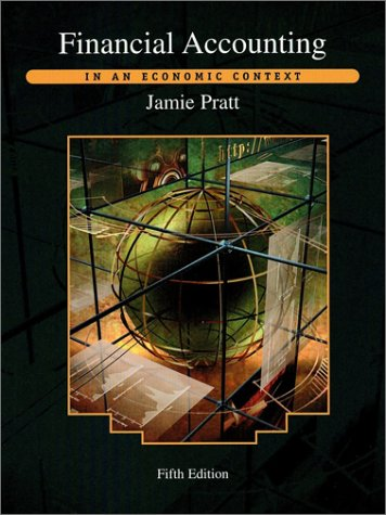 Financial Accounting In an Economic Context 5th 2003 edition cover