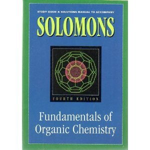 Fundamentals of Organic Chemistry 4th 1993 (Student Manual, Study Guide, etc.) 9780471595465 Front Cover