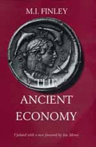 Ancient Economy   1999 (Revised) edition cover