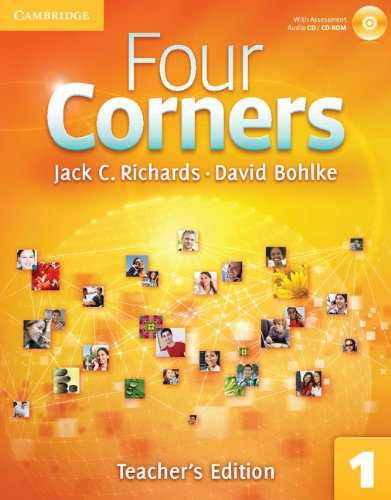 Four Corners Level 1   2011 (Teachers Edition, Instructors Manual, etc.) edition cover