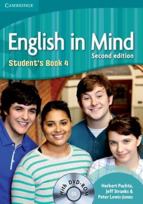 English in Mind, Level 4  2nd 2011 (Student Manual, Study Guide, etc.) 9780521184465 Front Cover