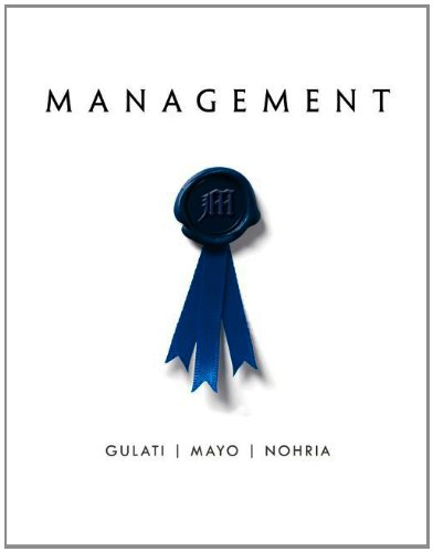 Management:   2013 edition cover