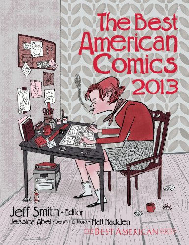 Best American Comics 2013   2013 edition cover