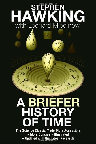 Briefer History of Time The Science Classic Made More Accessible  2008 9780553385465 Front Cover