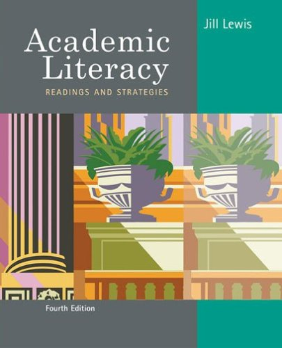 Academic Literacy Readings and Strategies 4th 2007 edition cover