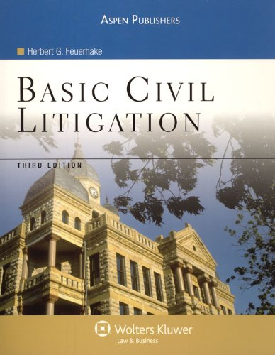 Basic Civil Litigation  3rd 2007 (Revised) edition cover