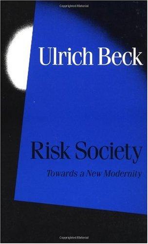 Risk Society Towards a New Modernity  1992 edition cover
