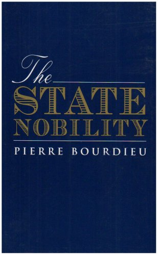 State Nobility Elite Schools in the Field of Power  1996 edition cover