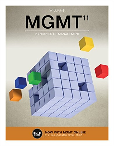 Mgmt + Mgmt Online, 1 Term 6 Months Access Card:   2018 9781337407465 Front Cover