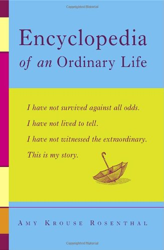 Encyclopedia of an Ordinary Life  N/A edition cover