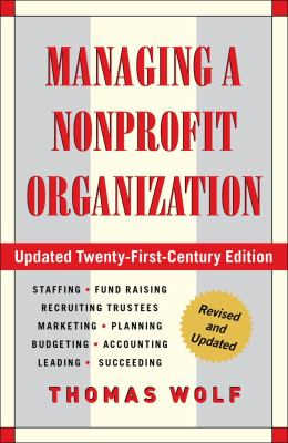 Managing a Nonprofit Organization  21st 2012 (Revised) edition cover