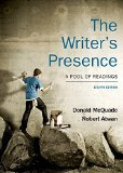 The Writer's Presence: A Pool of Readings  2014 edition cover