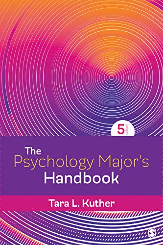 The Psychology Major's Handbook:   2019 9781544359465 Front Cover