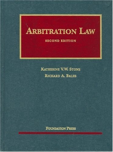 Arbitration Law, 2d  2nd 2010 (Revised) edition cover