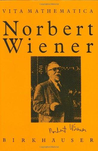 Norbert Wiener   1990 9783764322465 Front Cover