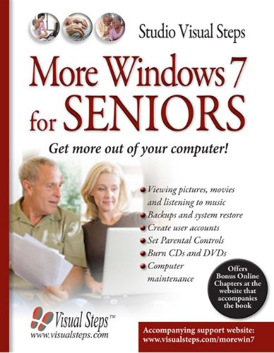 More Windows 7 for Seniors  N/A 9789059053465 Front Cover