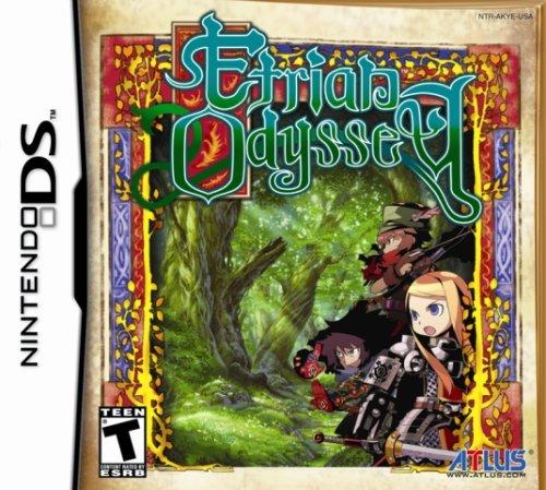 Etrian Odyssey - Nintendo DS Nintendo DS artwork