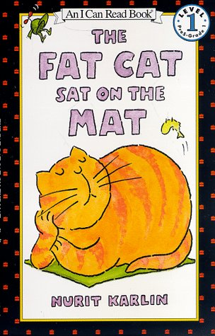 Fat Cat Sat on the Mat   1998 9780064442466 Front Cover
