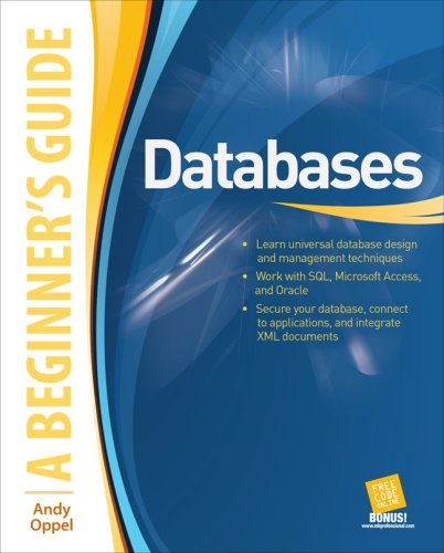 Databases   2009 9780071608466 Front Cover