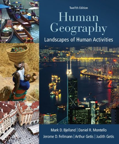 Human Geography Landscapes of Human Activities 12th 2014 edition cover