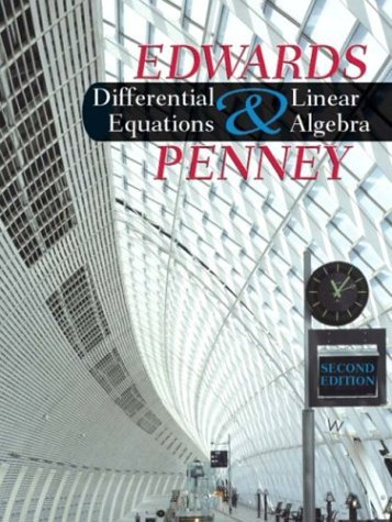 Differential Equations and Linear Algebra  2nd 2005 (Revised) edition cover