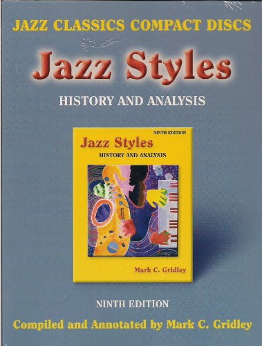 Jazz Styles: History and Analysis 9th 2006 edition cover
