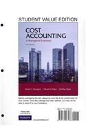 Cost Accounting, Student Value Edition  14th 2012 edition cover