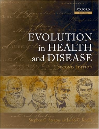 Evolution in Health and Disease  2nd 2007 9780199207466 Front Cover