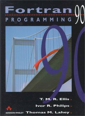 Fortran 90 Programming   1994 edition cover