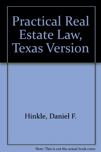 Hinkel Real Estate Law 2nd (Student Manual, Study Guide, etc.) 9780314053466 Front Cover