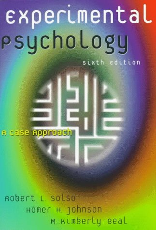 Experimental Psychology A Case Approach 6th 1998 edition cover