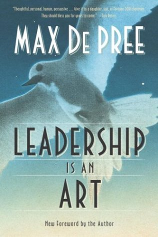 Leadership Is an Art   2004 edition cover