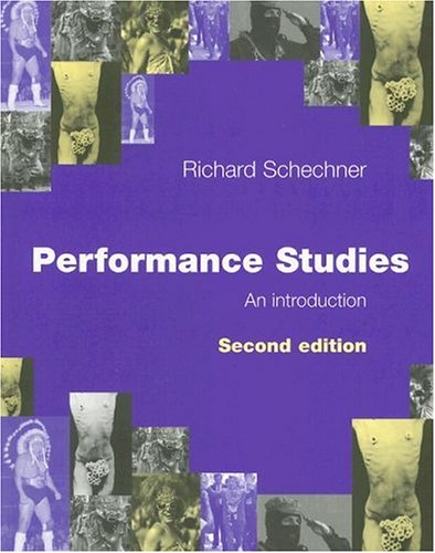 Performance Studies An Introduction 2nd 2006 (Revised) edition cover