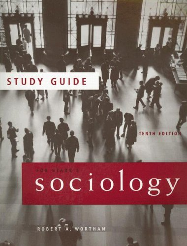 Sociology  10th 2007 9780495093466 Front Cover