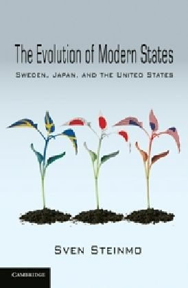 Evolution of Modern States Sweden, Japan, and the United States  2010 edition cover