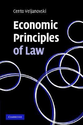 Economic Principles of Law   2007 9780521695466 Front Cover